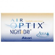 kontaktné šošovky Air Optix Night & Day AQUA 6 ks